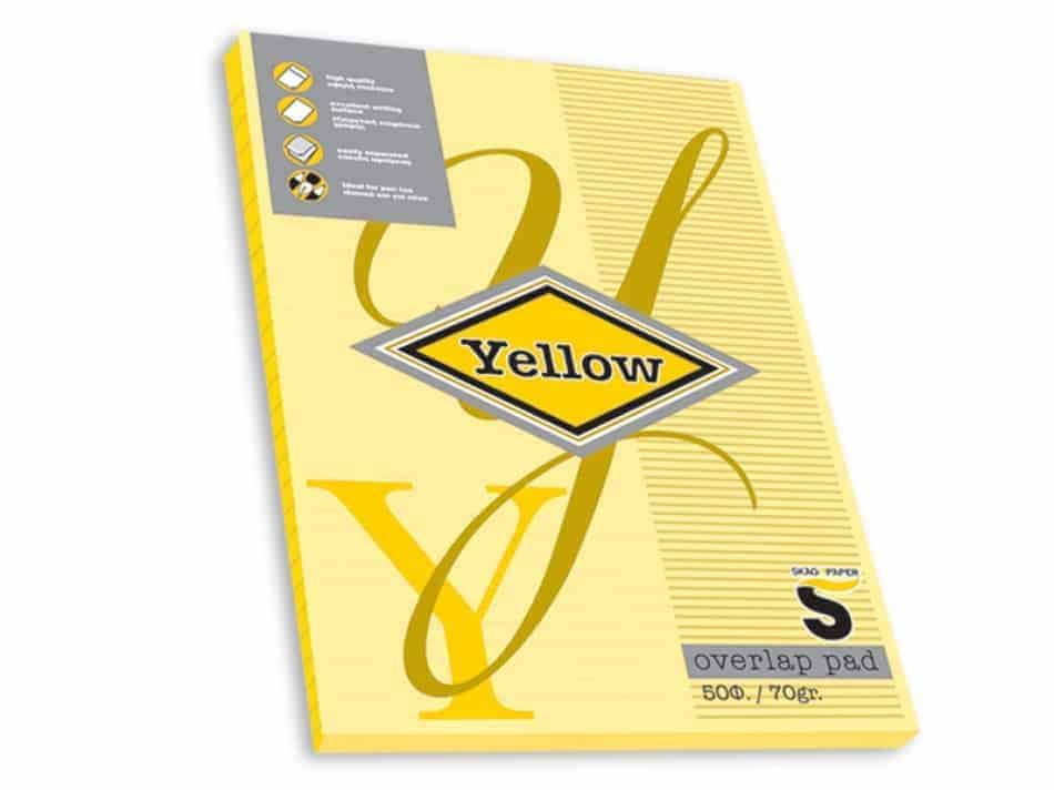 ειδικα μπλοκ yellow skag officeworld