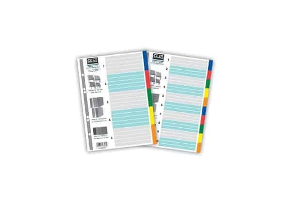 ευρετήρια πολυπροπυνέλειο p.p χρωματιστα skag officeworld