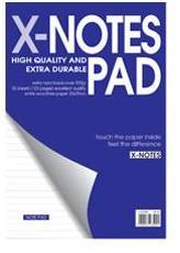 μπλοκ σπιραλ ριγε x-notes pad officeworld
