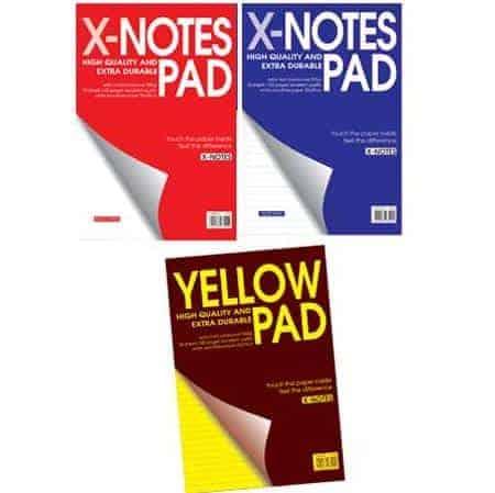 μπλοκ σπιραλ x-notes pad officeworld