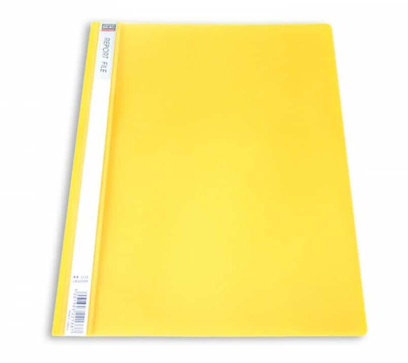 ντοσιέ p.p. κιτρινο με ελασμα
