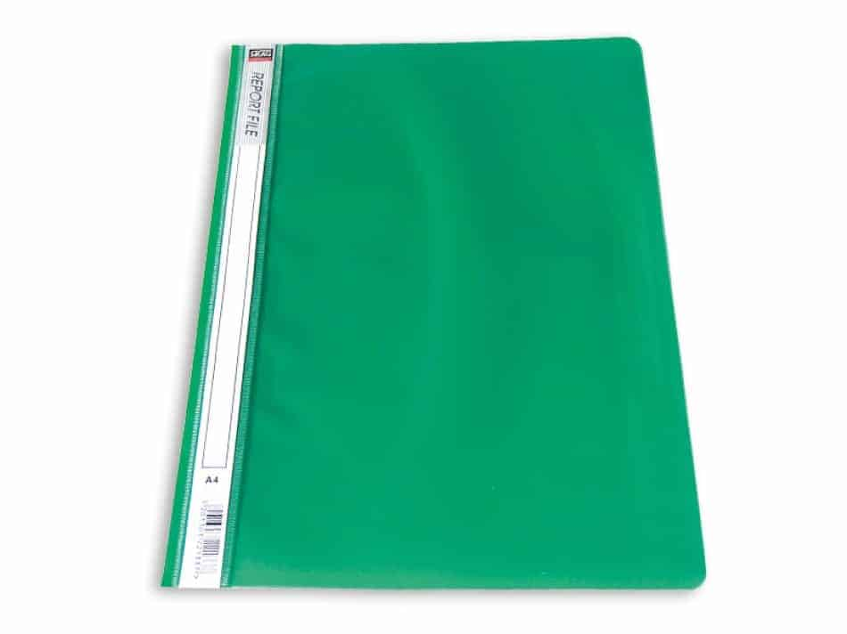 ντοσιέ p.p. πρασινο με ελασμα