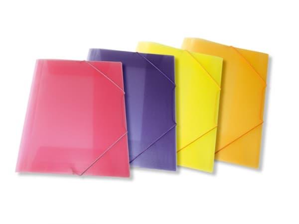 ντοσιε λάστιχο p.p. διαφανη skag χρωματα officeworld