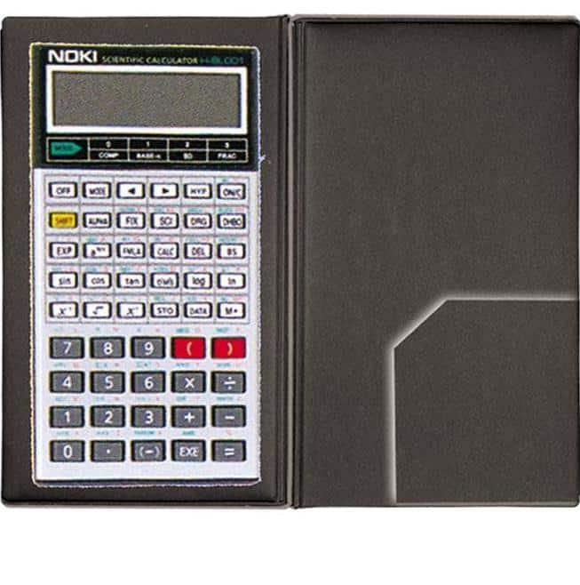 αριθμομηχανή επιστημονικη με θηκη noki officeworld H-BL001