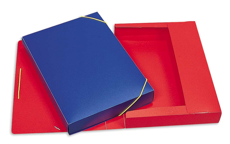 κουτι με λαστιχο pp 25x35 uni officeworld