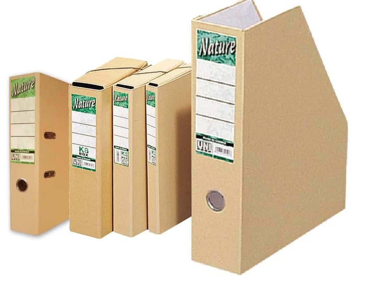 κουτι οικολογικο nature με λαστιχο officewrold uni