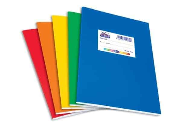 πλαστικα τετραδια χρωματιστα 17x25 skag officeworld