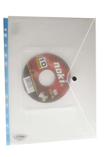 ζελατινη με κουμπι και θηκη cd dvd uni officeworld