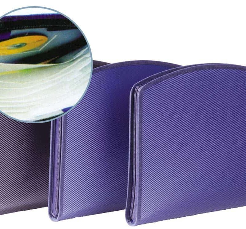φυσουνα 13 θεσεων με θηκη cd-dvd p.p. uni officeworld