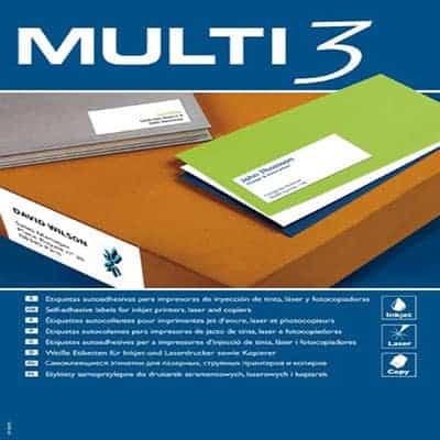 αυτοκολλητη ετικετα multi3 officeworld