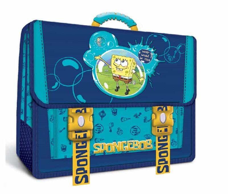 Τσάντα πλάτης σχολική Sponge Bob (Μπομπ Σφουγκαράκης).