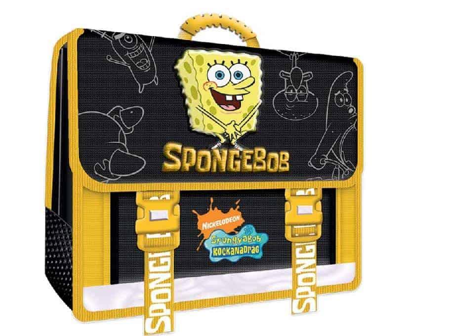 τσαντα πλατης σχολικη sponge bob uni officeworld