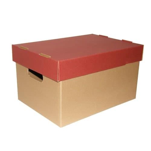 κουτι αρχειου Α3 με χρωματιστο καπακι paperworld next officeworld