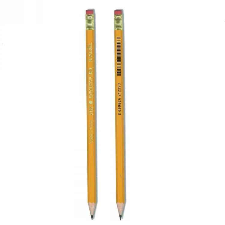 μολυβι με σβηστρα executive HB adel officeworld
