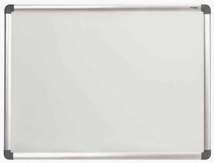 πινακας λευκος μαγνητικος με θηκη για μαρκαδορους officeworld