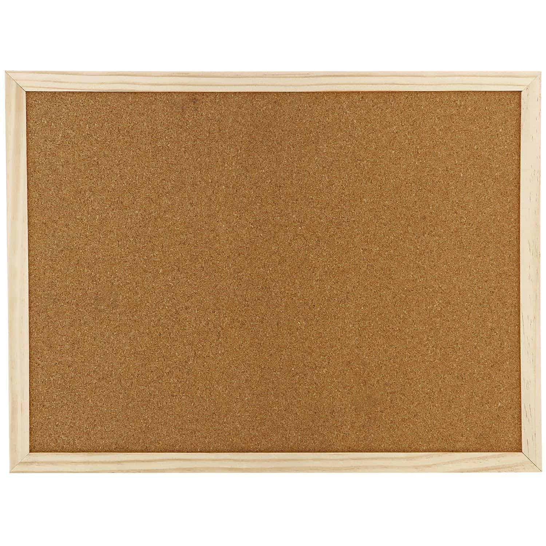 πινακας φελλου wood frame officeworld