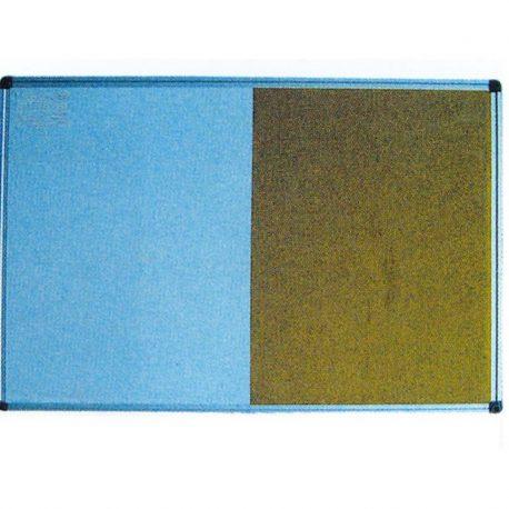 Πίνακας Διπλός Λευκός Μαγνητικός και Φελλού