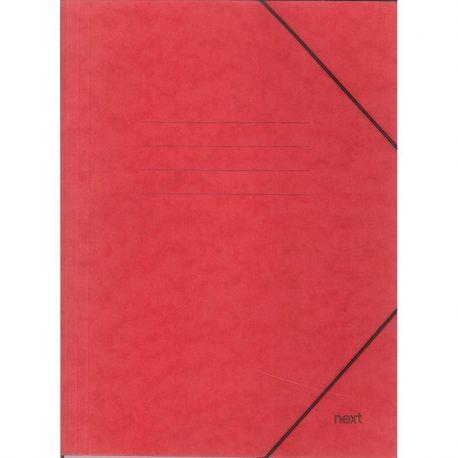 Φάκελος με Λάστιχο Πρεσπάν Κόκκινος 03407-11