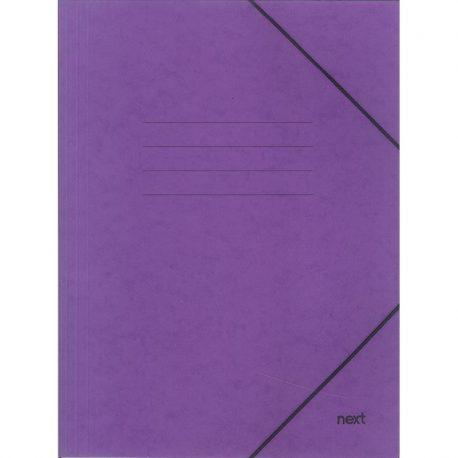 Φάκελος με Λάστιχο Πρεσπάν Μωβ 03407-11