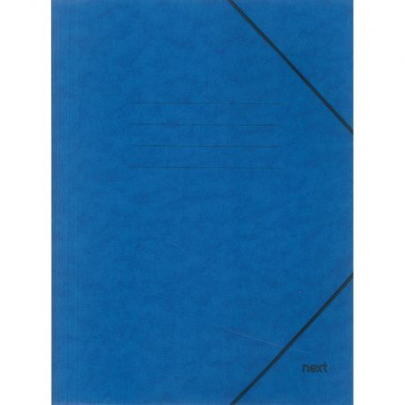Φάκελος με Λάστιχο Πρεσπάν Μπλε 03407-11