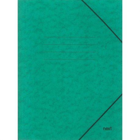 Φάκελος με Λάστιχο Πρεσπάν Πράσινος 03407-11