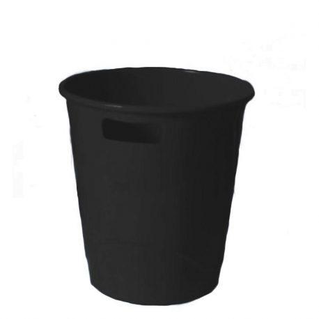Καλάθι Αχρήστων Πλαστικό με Λαβές Μαύρο 29006