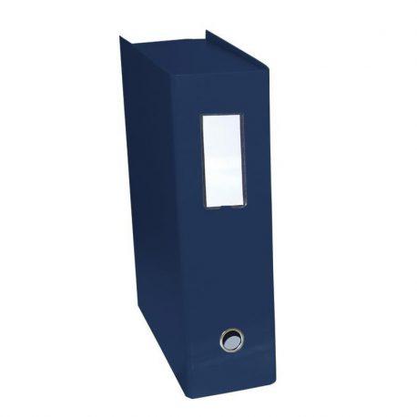 Κουτί Αρχειοθέτησης Σκληρό Δερματίνη Πολυτελείας Μπλε 01991