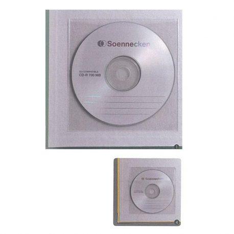 Autokollhth thikh CD me kapaki Υ12,9x13cm (100pcs)