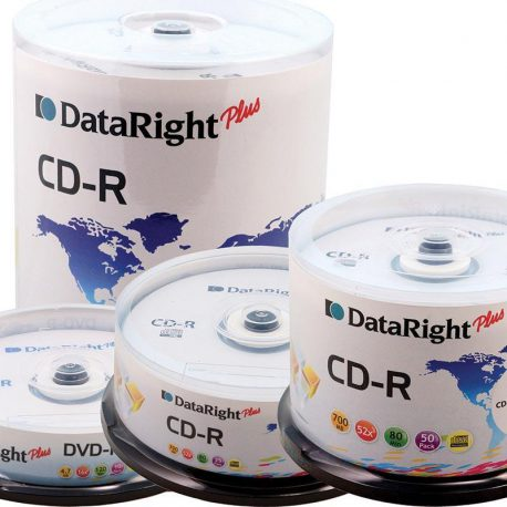 Dataright CD-R 700MB cake box