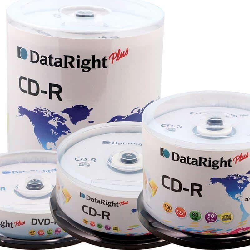 Dataright CD-R 700MB cake box