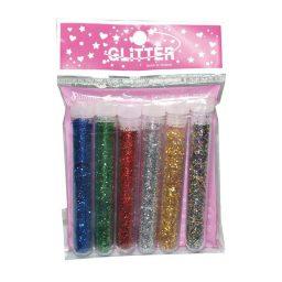 6 Chrwmata gia cheirotechnia Glitter