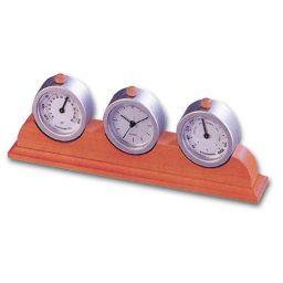 Roloi-barometro-thermometro Υ7,5x22,4x3,5cm Bestar