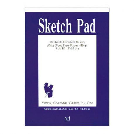 Sketch pad mplok schedioy 90gr Next