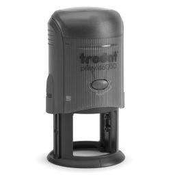 Sphragida stroggylh 40mm printy Trodat
