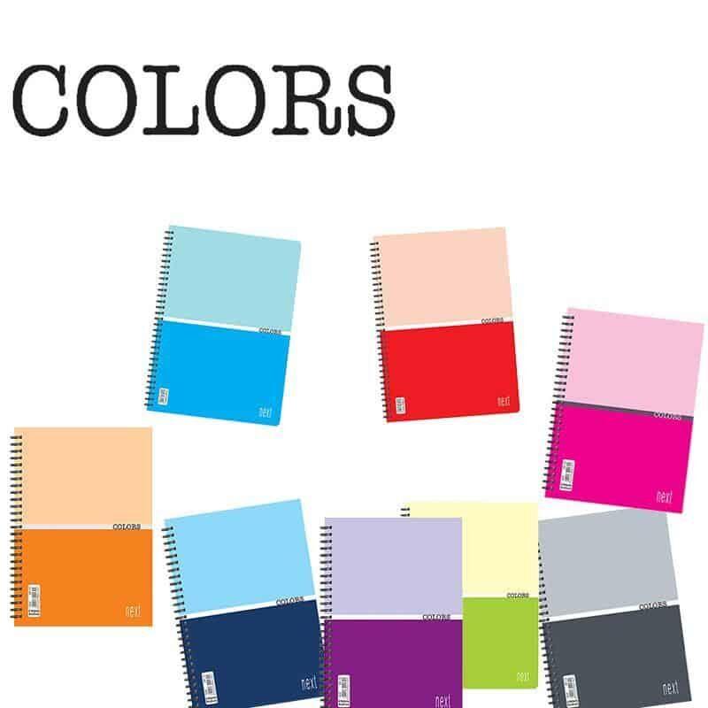 Tetradia colors spiral Next
