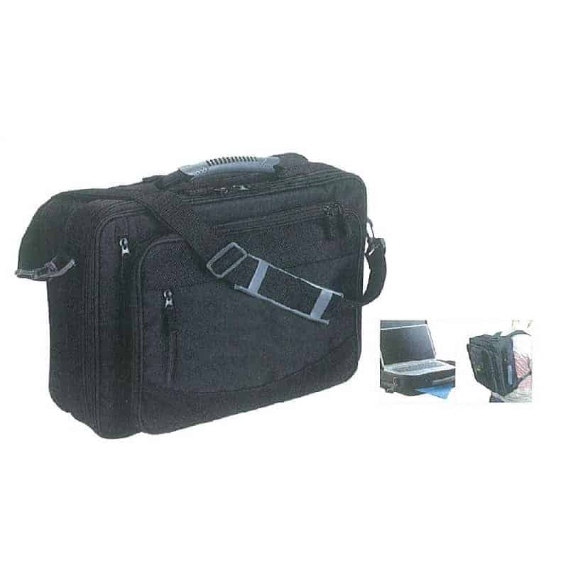 Τσάντα με Θήκες Για Laptop Μαύρη | OfficeWorld