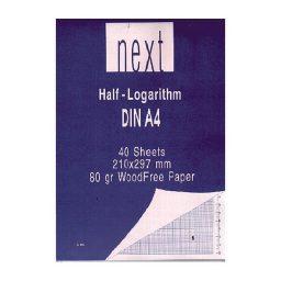 Mplok hmilogarithmiko A4 21x29.7cm Next