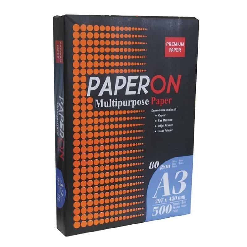 Phwtoantigraphiko charti A3 80gr 500 plylla Paperon