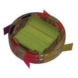 Selidodeiktes plastikoi me bash 50 phylla ana chrwma 48x48mm+48x15mm Scripti