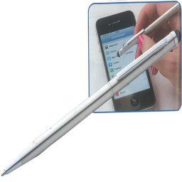 Stylo metalliko lepto gia touchscreen othones 13.5xØ0.5cm