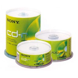 Data CDR-700MB 80min cake box 50 temachia Sony