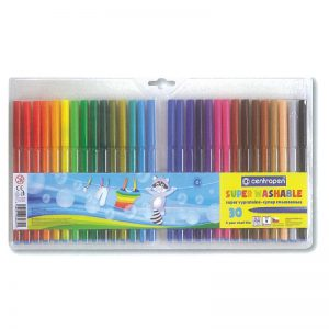 Markadoroi zwgraphikhs super washable 1mm 30 chrwmata Centropen