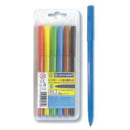 Markadoroi zwgraphikhs super washable 1mm 6 chrwmata Centropen