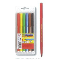Markadoroi zwgraphikhs washable 1mm 6 chrwmata Centropen