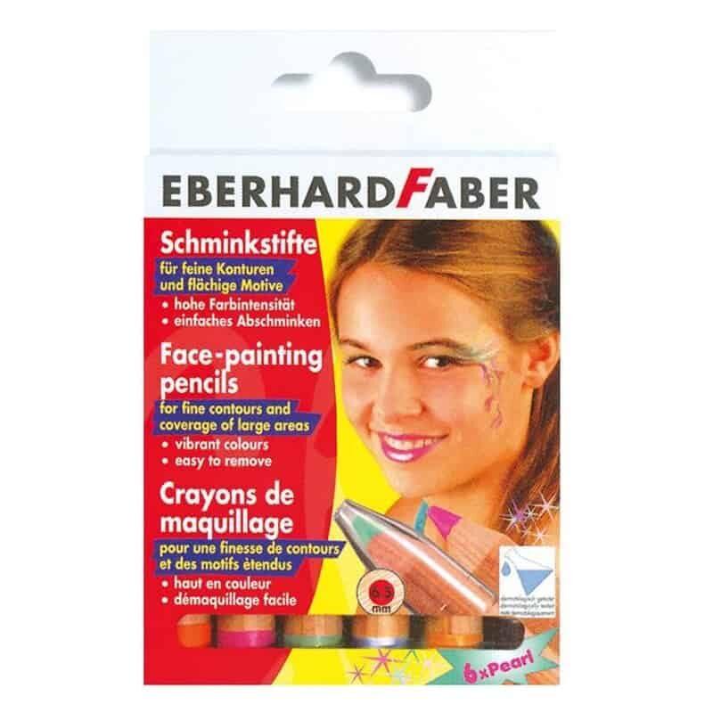Molyvia perle gia to proswpo 6 chrwmata Eberhardfaber