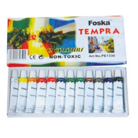 Tempera 12 temachiwn Gouache