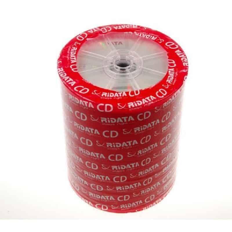CD-R 700MB shrink cake box 100 temachia Ridata