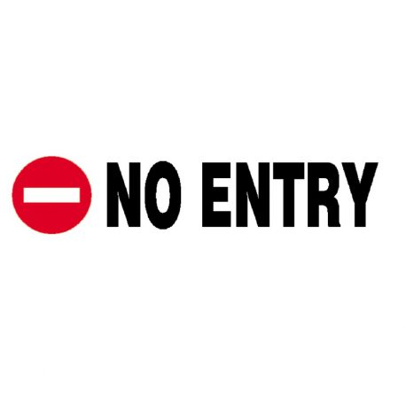 Epigraphi P.P. 'No entry' 7x22cm Next