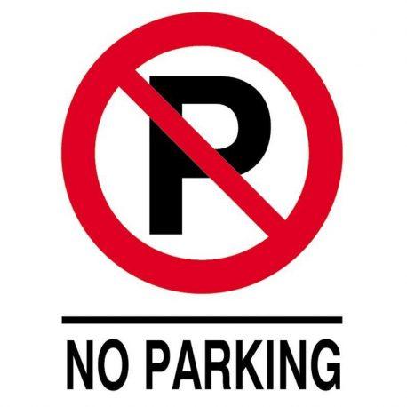 Epigraphi PP 'No praking' 27x35cm Next