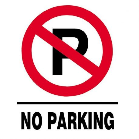 Epigraphi PP 'No Parking' 15x20cm Next